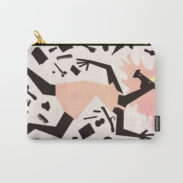 Get Dressed Unicorn Carry-All Pouch