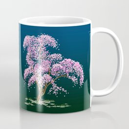Steampunk Cherry Tree Coffee Mug