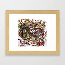 The Art of Cut Throat Business Framed Art Print