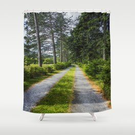 Country Path Walks Shower Curtain