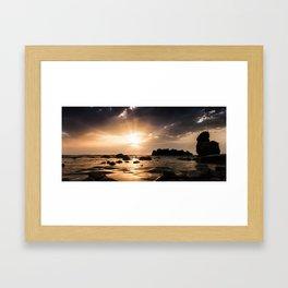 Las Rotas Framed Art Print