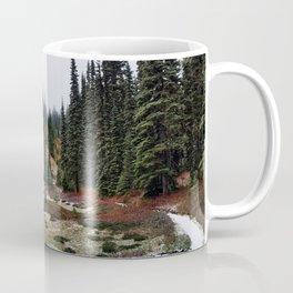 Light Snow on Mountain Meadow Coffee Mug