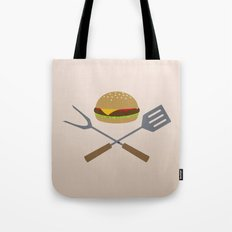 Jolly Burger Tote Bag