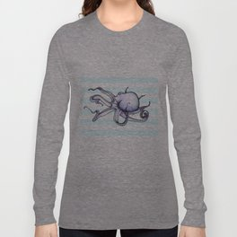 Floating Octopus Long Sleeve T-shirt