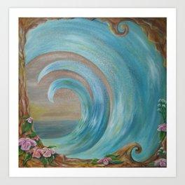 East Wave Sale Art Print