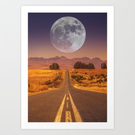Lunar 2 Art Print