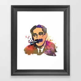 GrouchoMARX Framed Art Print