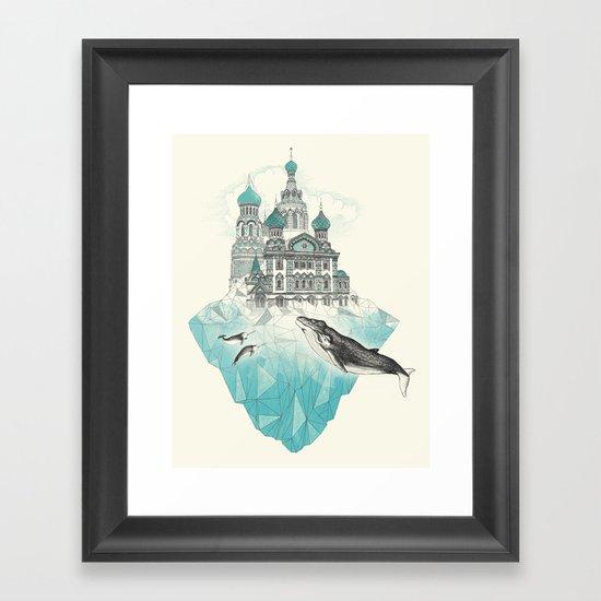 st peters-burg Framed Art Print