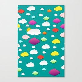 Rainbow Cloud Canvas Print