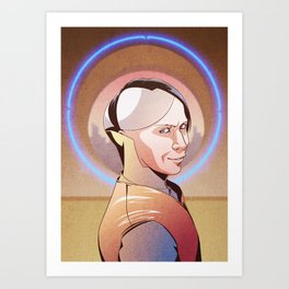 Chaos (Zorg - The Fifth Element) Art Print