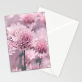 Allium pink 0146 Stationery Cards