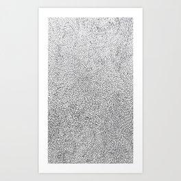 Turbulence 4 Art Print