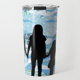 Lake Silhouettes Travel Mug