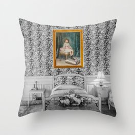 The Breakers Bedroom Throw Pillow