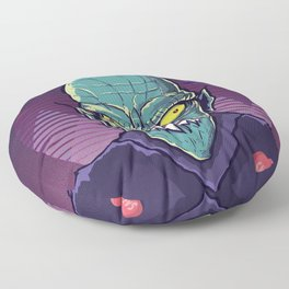 Mister barlow vampire salem Floor Pillow