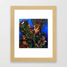 Cross-Polination  Framed Art Print
