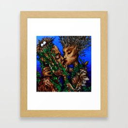 Cross-Polination  Framed Art Print