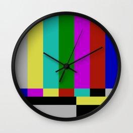 STATIC TV Wall Clock