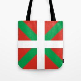 Basque Country: Euskaldun Flag Tote Bag