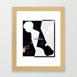 Love Me Right Framed Art Print