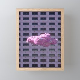 PinkSmoke Framed Mini Art Print