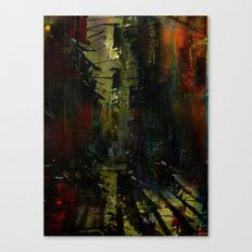 A street too quiet Canvas Print