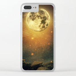 The cosmic call Clear iPhone Case