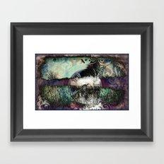 Time keeps on slipping...... Framed Art Print