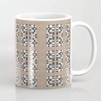 quilt Mugs featuring Quilt by Finn Wild