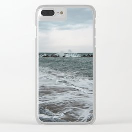 The sea ... mirror of the sky Clear iPhone Case
