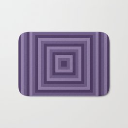 Purple Squares Bath Mat