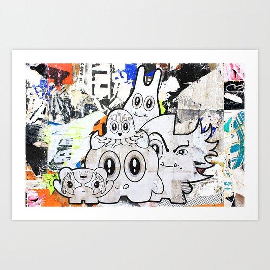 Sugar Monsters Art Print