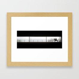 Horse Rider Framed Art Print