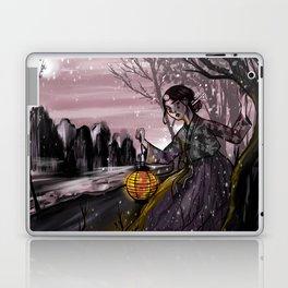 Runaway bride under the moon Laptop & iPad Skin