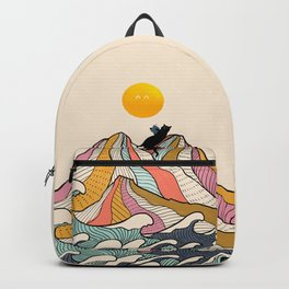 Good Morning Meow 3 - Reading Rainbow Backpack