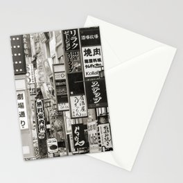 Signs of Tokyo Stationery Cards