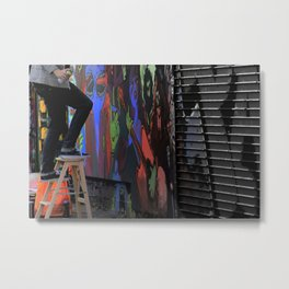 Those  'Say-Nothing' Work Clothes Metal Print