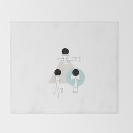 Kendama / passion obsession 1.1 Throw Blanket