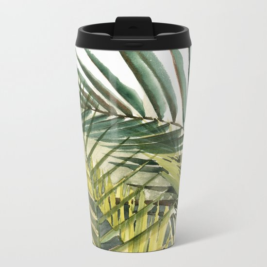 Arecaceae - household jungle #2 Metal Travel Mug