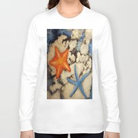 starfish Long Sleeve T-shirts featuring Starfish by Michael Anthony Alvarez
