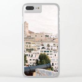 Dalt Vila - Ibiza - Travel Photography Clear iPhone Case