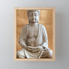 Buddha Framed Mini Art Print