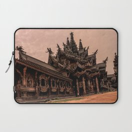 The Sanctuary of Truth Laptop Sleeve