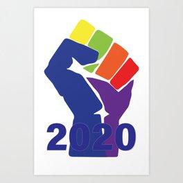 The Resistance 2020 Art Print