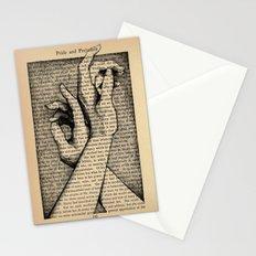 Pride & Prejudice, Page 142: Hands Stationery Cards