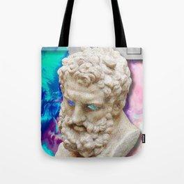 Vaporwave Socrates Aesthetics Tote Bag
