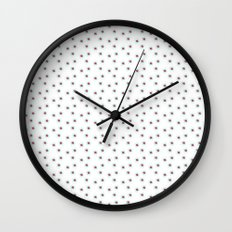 Watercolor´s dots Wall Clock