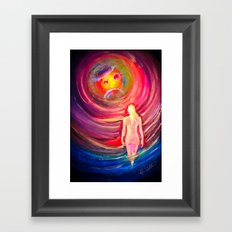 Space and time 5 Framed Art Print