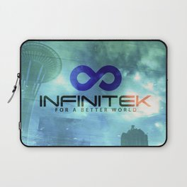 Space Needle - Infinitek Headquarters Seattle Laptop Sleeve