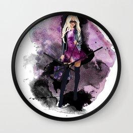 Galaxy Glam Wall Clock